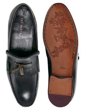 Image 3 ofTed Baker Tephra Leather Loafers