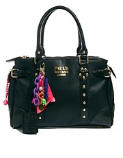 Paul&#39;s Boutique  Darcy  Schwarze Schultertasche