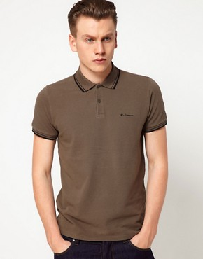 Image 1 ofBen Sherman Romford Polo Shirt