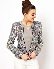 Joe&#39;s Jeans Opal Sequin Jacket