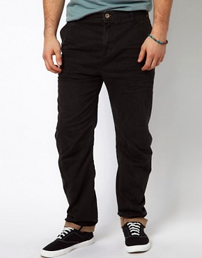 Image 1 ofRiver Island Olive Trousers