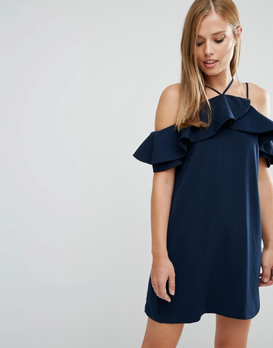 Keepsake Bitter Sweet Dress - Navy