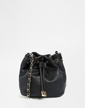 ASOS Mini Duffle Bag with Chain Strap