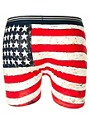 Image 2 ofRiver Island New Stars And Stripes 3 Pack Trunks