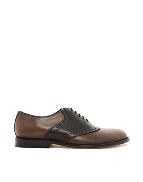 Image 2 ofASOS Saddle Shoes With Leather Sole