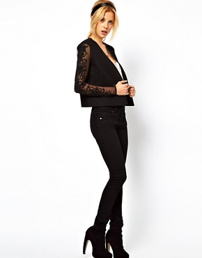 Image 4 ofASOS Blazer With Embellished Sleeves