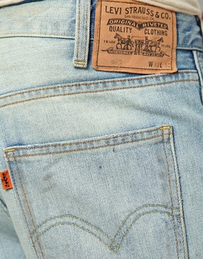 Image 3 ofLevis Vintage Jeans 1960 605 Slim With Rips