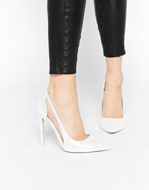 ASOS PRODUCTION Pointed High Heels