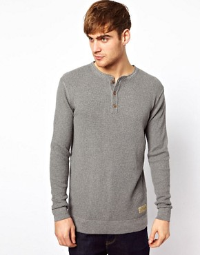 Image 1 ofJack &amp; Jones Henley Jumper