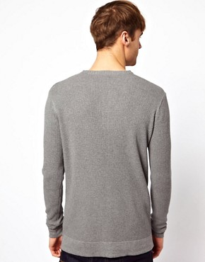 Image 2 ofJack &amp; Jones Henley Jumper