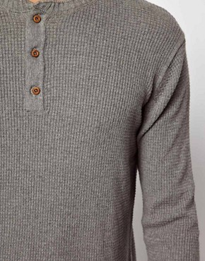Image 3 ofJack &amp; Jones Henley Jumper