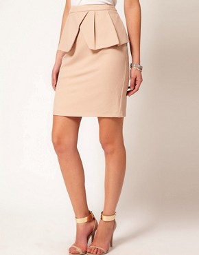 Image 4 ofOasis Asymmetric Pencil Skirt