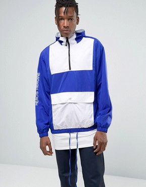 Hero's Heroine Overhead Windbreaker Jacket