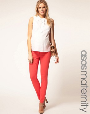 Image 1 ofASOS MATERNITY Exclusive Skinny Jean #4
