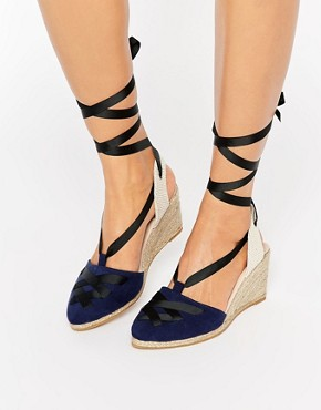 ASOS JACQUELINE Point Wedge Espadrilles