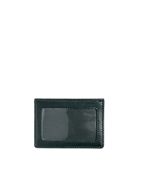 Image 2 ofBoss Black Leather Cardholder