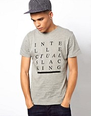 WESC &ndash; Intellectual Slacking &ndash; T-Shirt, exklusiv bei ASOS