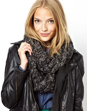 Image 1 ofASOS Textured Knit Snood