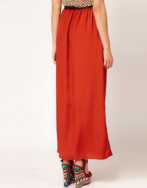 Image 2 ofPaprika Maxi Skirt With Belt
