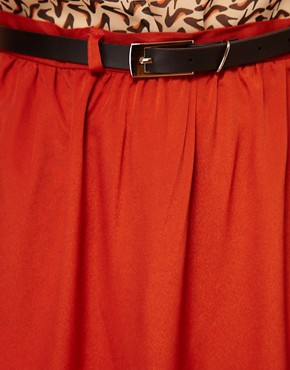 Image 3 ofPaprika Maxi Skirt With Belt