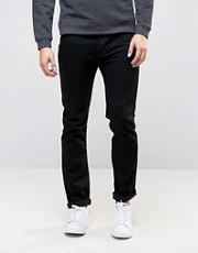 Vaqueros slim negros de ASOS