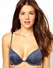 Calvin Klein Lace &amp; Micro Push Up Bra
