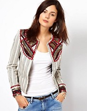 Pepe Jeans Embellished Jacket