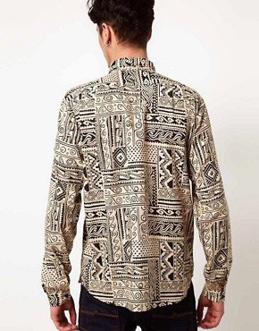 Image 2 ofVillage Green Aztec Shirt