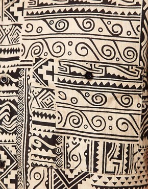 Image 3 ofVillage Green Aztec Shirt