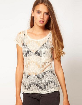 Image 1 ofGlamorous Lace Top