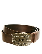 Diesel Biplaci Leather Belt