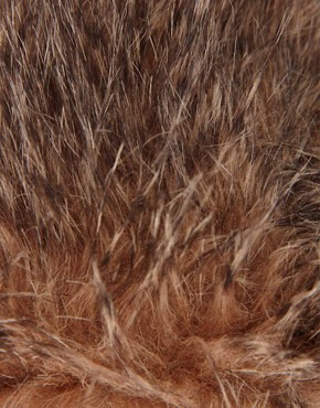 Image 3 of ASOS Faux Fur Bear Ears Hat