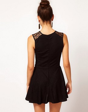 Image 2 ofLe Ciel Dress With Lace