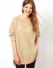 Wwul Mixed Yarn Jumper