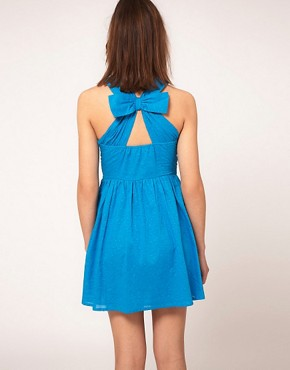 Image 1 ofASOS Summer Dress In Bow Back