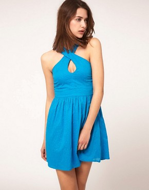 Image 2 ofASOS Summer Dress In Bow Back