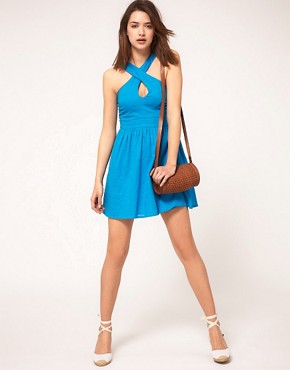 Image 4 ofASOS Summer Dress In Bow Back