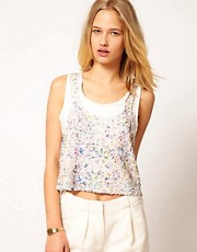 71 Stanton Sequin Tank Top