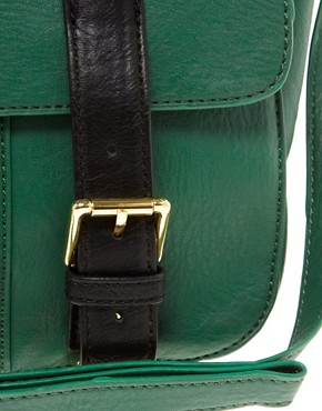 Image 4 ofASOS Satchel Bag With Straight Flap