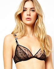 Fleur Of England Wild At Heart Lace Plunge Bra