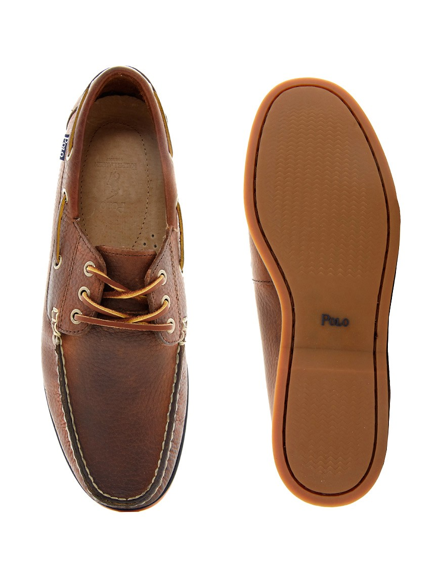 Image 4 of Polo Ralph Lauren Bienne Boat Shoes