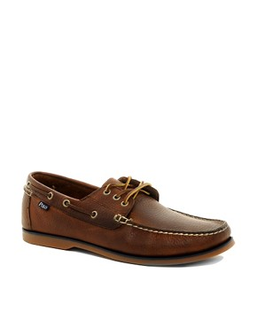 Image 1 ofPolo Ralph Lauren Bienne Boat Shoes