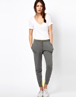 Image 1 ofPaul by Paul Smith Jogging Pants with Fleuro Cuff