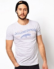 Jack &amp; Jones T-Shirt With Logo Print