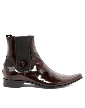 Image 4 ofJeffery West Muse Hi-Shine Chelsea Boots