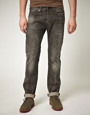 Image 1 ofReplay Jennon Straight Jeans