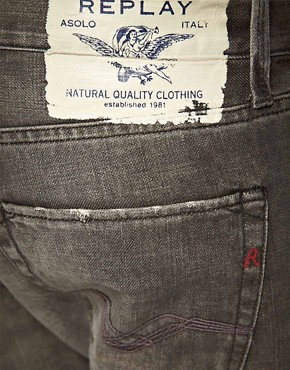 Image 4 ofReplay Jennon Straight Jeans