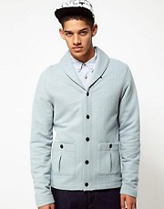 Reigning Champ Cardigan With Shawl Neck