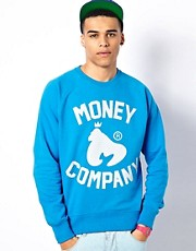 Money Sweatshirt Reflective Company Logo