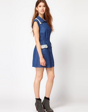 Image 4 ofMax C Denim Shirt Dress
